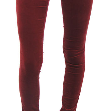 AG jeans | the legging - super skinny (cabernet)