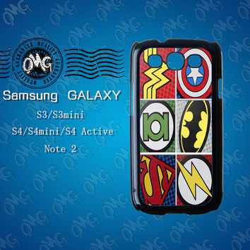 Superhero,Samsung Galaxy S3 case,Samsung Galaxy S4 case,Samsung Galaxy Note2 case,Samsung Galaxy S4 Active case,S3 mini case,S4 mini case