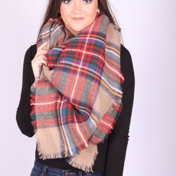 The Camel Blanket Scarf