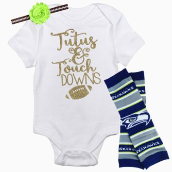 Seattle Seahawks Baby Outfit