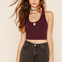 T-Back Crop Top