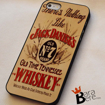 Jack Daniels Whiskey iPhone 4s iphone 5 iphone 5s iphone 6 case, Samsung s3 samsung s4 samsung s5 note 3 note 4 case, iPod 4 5 Case