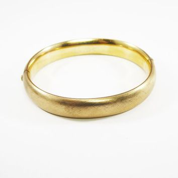 Shop Vintage 14k Gold Bangle Bracelets on Wanelo aaf5035c1