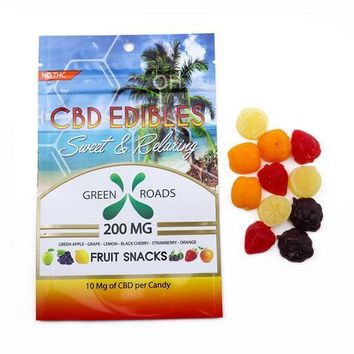 CBD EDIBLES FRUIT SNACKS 200 MG