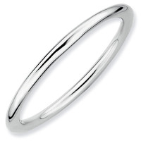 Polished Stackable Ring 1.5mm
