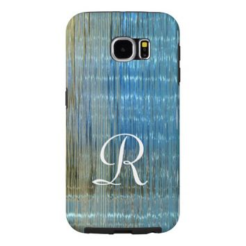 Abstract Lake Reflection Monogram Tough Samsung Samsung Galaxy S6 Case