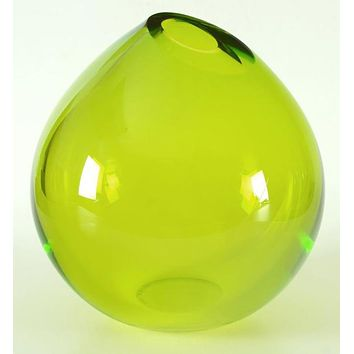 Glass Vase - Original Hand Blown Glass Vase by Paul Brayton