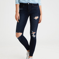 AE The Dream Jean Hi-Rise Jegging , Darken Destroy