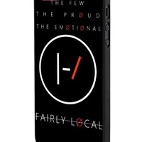 Twenty One Pilots Fairly Local iPhone 5 Case Hardplastic Frame Black Fit For iPhone 5 and iPhone 5s
