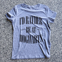 Harry Potter Womens Clothing, Women Shirt Top, Graphic Tee, Fashion Shirt, Tee, Top, funny tshirts - I'd Rather Be At Hogwarts