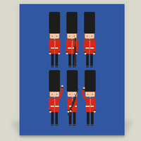 British Guard Art Print by julianamotzko on BoomBoomPrints