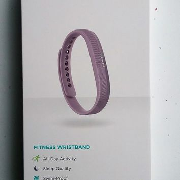 Fitbit Flex 2 with Lavender Band, BRAND NEW IN BOX Never Opened