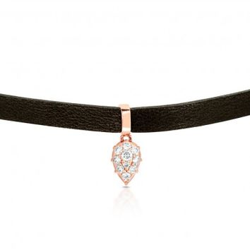Carbon & Hyde 14ct rose gold pasha choker