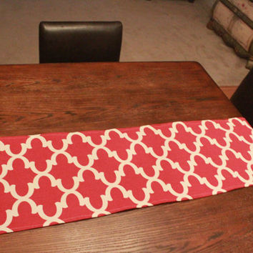 Red Table Runner 13x74