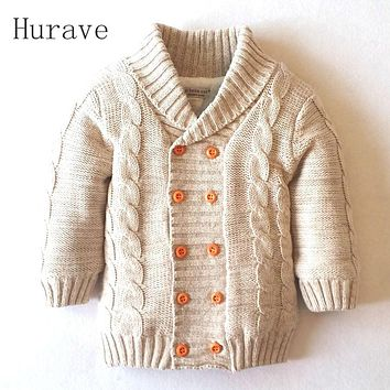 New Arrived Baby boys Girls Sweater Kids Winter Autumn Thicken Outerwear knitting pattern clothing