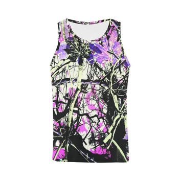 Country Girl Design 1 Men's All Over Print Tank Top