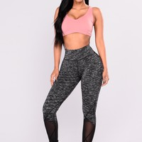 Gabriela Performance Active Leggings - Grey