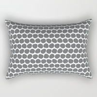 Wobbly Pattern Rectangular Pillow by Errne's Colour Room