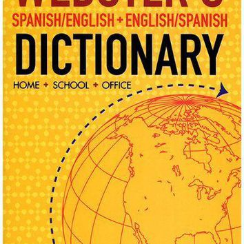Webster's English-Spanish Dictionary Case Pack 24
