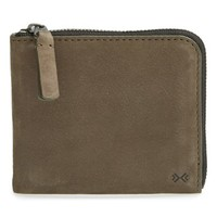 Men's Skagen 'Henning' Nubuck French Wallet