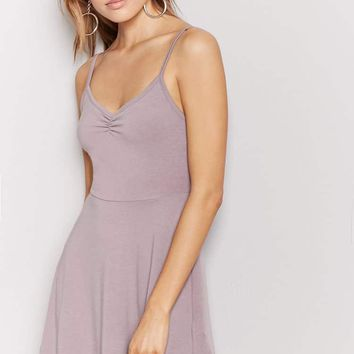 V-Neck Cami Swing Dress