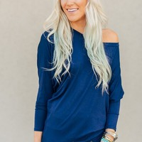 Plain + Simple Navy Dolman