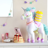 Strapya World : ECONECO Character Animal Parade Plush Doll (Unicorn / Unita)【Valentine Sale】