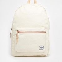Herschel Supply Co Settlement Canvas Backpack Exclusive To ASOS
