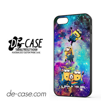 Despicable Me Minions In Galaxy For Iphone 5 Iphone 5S Case Phone Case Gift Present