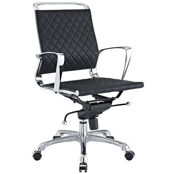 Vibe Mid Back Leather Office Chair EEI-227