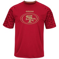 Majestic San Francisco 49ers Skill in Motion Synthetic Tee