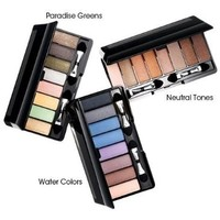 Avon 8 in 1 Eye Shadow Set Eight in One Palette Neutral Tones