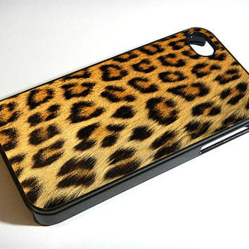 Leopard Print - -   iphone 4 case, iphone case, iphone 4s case, iphone 4s, iphone 4 cover, iphone hard case, iphone 4, iphone