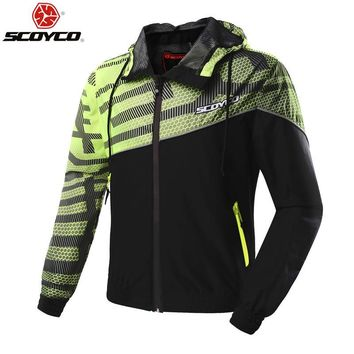 Trendy SCOYCO JK61 Motorcycle Jacket Chaqueta Moto Jaqueta Motoqueiro  Moto Homme Protection Gears Clothing Armor In the summer AT_94_13