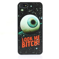 Look Me Bitch Print Case For iPhone4/4s