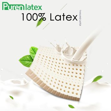PurenLatex 40*40/ 45*45 Thailand Natural Latex Seat Cushion Pad Chair Hips Orthopaedic Pillow Seat Latex Mats Coccyx Protect