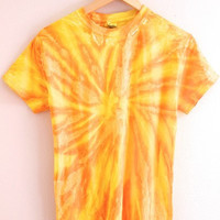 NEON COLLECTION: Honey Tie-Dye Unisex Tee