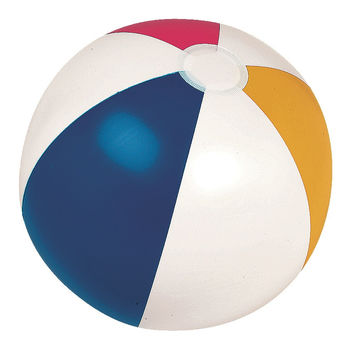 "16"" Classic Inflatable 6-Panel Beach Ball Swimming Pool Toy"