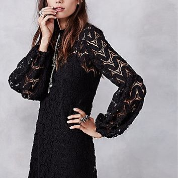 Free People Womens Josey Lace Dress