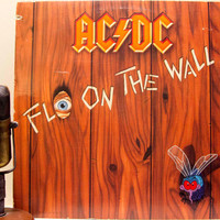 "ON SALE Vinyl Record Album 1980s AC/Dc Hard Rock Australian Lp, ""Fly On the Wall""(Original 1985 Atlantic Records)"