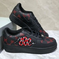 GUCCI/Nike Air Force 1 Air Force No.1 sneakers-1