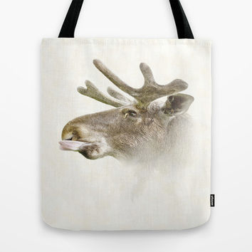Mr Moose Tote Bag by Peaky40