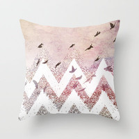 dreaming Throw Pillow by Marianna Tankelevich