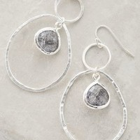 Quartz Lagoon Hoops by Anthropologie