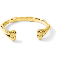 Gold Old Bone Bracelet