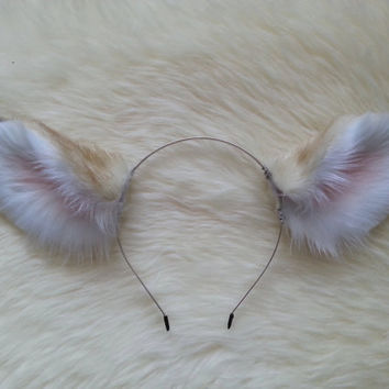 Fawn ears, deer ears realistic, positionable, movable