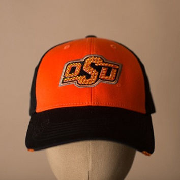 OSU Swarovski Crystaled Caps