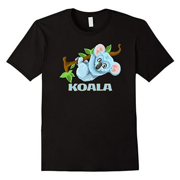 Cute Koala Animal Lovers T-shirt in our Wild Life Series
