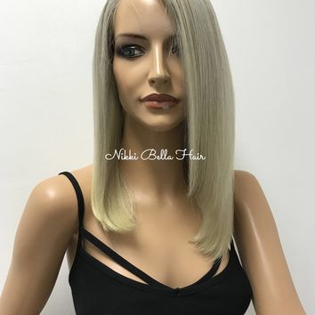 Ash Blond Full Lace Wig -Giorgia