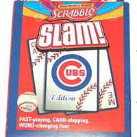 MLB Licensed Chicago Cubs Scrabble Slam Card Game